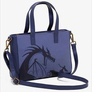 Disney Villian Maleficent Embossed Dragon Purse